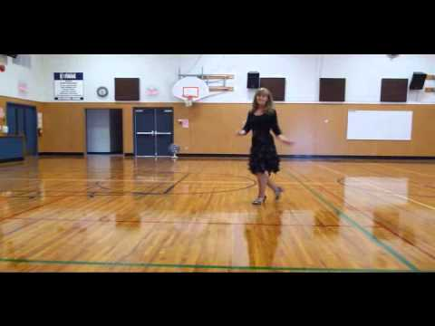 Mary Ann Regrets - Line Dance Demo - Improver Level 64-4 1 easy...