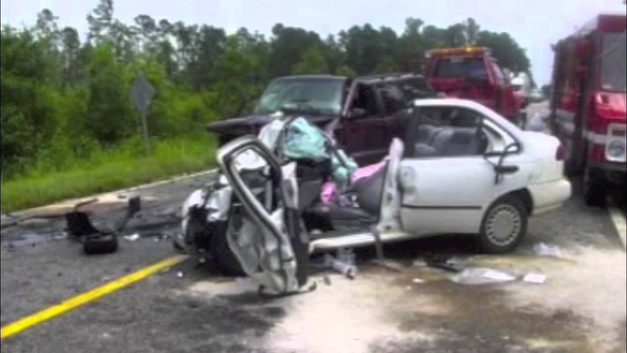 Bad Car Accidents Caught On Tape