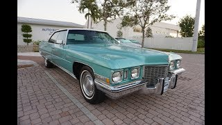Road Test - This 1972 Cadillac Sedan DeVille is from an era when Cadillacs were Cadillacs