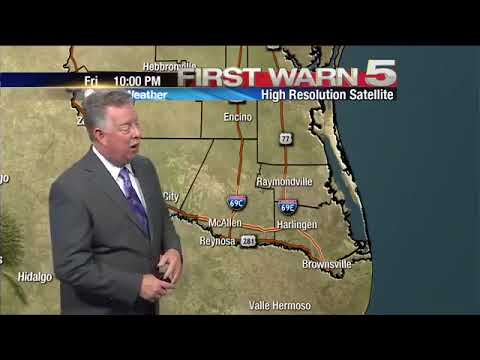 Friday's Weather - 10pm