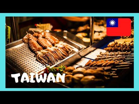 The Danshui food market, a tour (Taiwan)