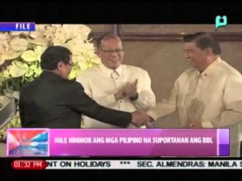 MILF, hinimok ang mga Pilipino na suportahan ang Bangsamoro Basic Law || Sept. 12, 2014