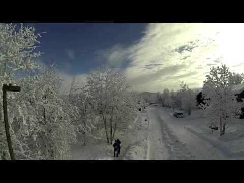Carbondale Colorado Big Snow Phantom Fly Over