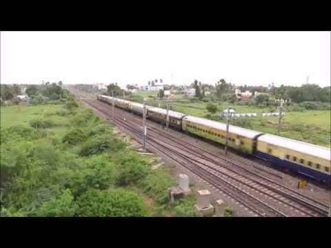 WAP4 powered Chennai Central - Coimbatore Shatabdi Express