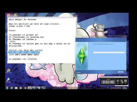 Como Istalar -Sims 3 Con 2 Cd-