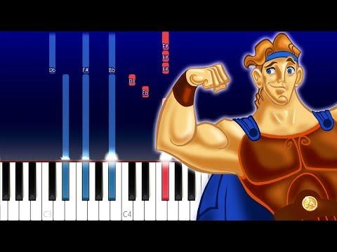 Hercules - Destripando La Historia (Piano Tutorial)