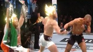 ☆EPIC☆ Conor McGregor Goes Super Saiyan On Eddie Alvarez