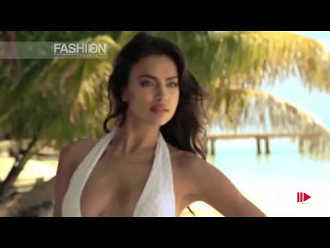 Irina Shayk For Beach Bunny Swimwear Photoshoot Spring Summer 2014 Hd By Fashion Channel video