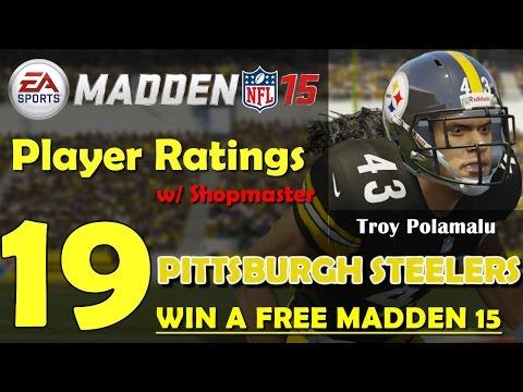 Madden 15 Player Ratings & Team Breakdown - Pittsburgh Steelers video