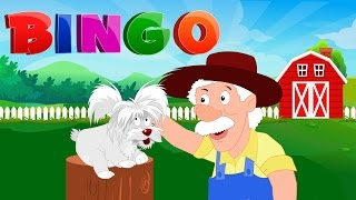 Bingo Song | Nursery Rhyme For Toddlers | Kindergarten Video For Children by Kids Tv