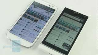 Samsung Galaxy S III vs Sony Xperia S