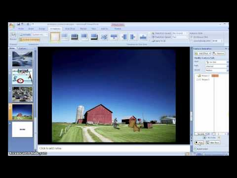 how to create a powerpoint for a story