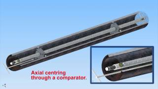 Sir Meccanica S.p.A. - Support with adjustable mechanical expanders for axial centering in depth