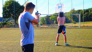 TOR oder PAINTBALL #2 - FUßBALL CHALLENGE