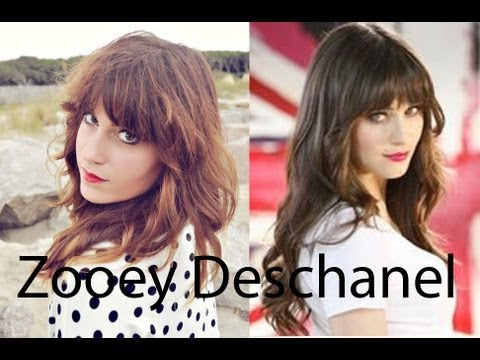 TAG: Makeup your Look-Alike | Zooey Deschanel