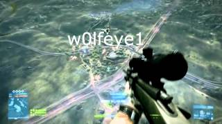 BF3 -  Sick Jet Sniping by w0lfeye