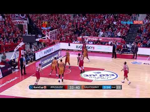 Hapoel Jerusalem 81-91 Galatasaray Odeabank | EuroCup 5. Hafta Maç Özeti