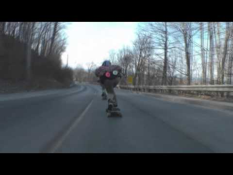 Longboarding is for pussy's and wannabe's: Raw Run