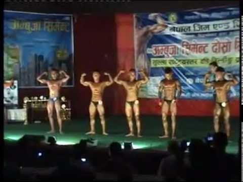 Mr. Nepal Bodybuilding Championship 2013 Part-1 video