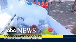 "Record summer scorcher, Trump's ""send her back"" rally, Area 51 prepares for an invasion"