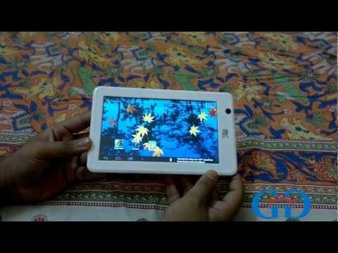 HCL ME U1 Tab Unboxing and Hands On