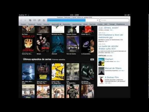 Reproduce películas en tu iPod. iPad o iPhone [Cuevana.TV en tu iOS]