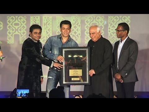 Salman Khan Launches A.r Rahman's New Album video