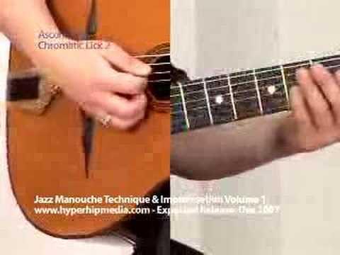 Gypsy Jazz Manouche Lesson 8