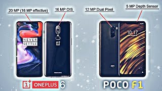 Poco F1 Vs One plus 6 Camera Comparison watch till end
