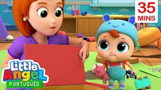 Que Bagunça, Joãozinho! | Guardando os Brinquedos | + Vídeos Infantis do Little Angel Português