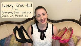New In Luxury Shoes Haul | Ferragamo | Stuart Weitzman | Chanel | L.K. Bennett | Vince | Tory Burch