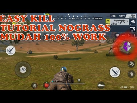 TUTORIAL HACK RULES OF SURVIVAL NO GRASS | 100% WORK 2018