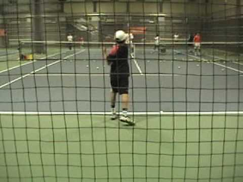 Nakamichi Mazhar GO. Japanese Tennis Player, currently training in Sydney/Australia. This video recorded during 9 to 10 years old.Visit his Web site http://w...