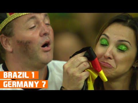 Brazil vs Germany (1-7) World Cup 2014 Highlights