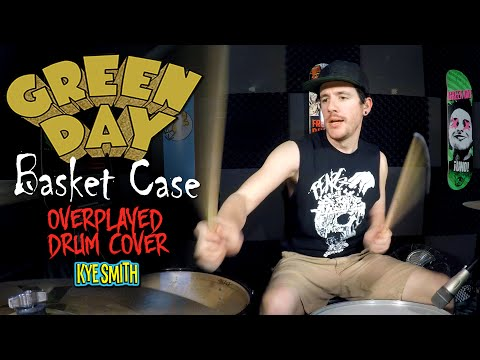 Green Day - Basket Case (Overplayed Drum Cover) - Kye Smith [4K]