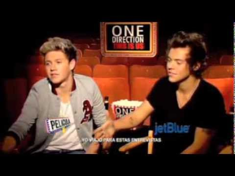 One Direction - Puerto Rican interview
