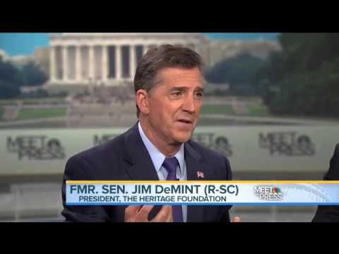 Heritage Foundation President Jim DeMint on the GOP Divide