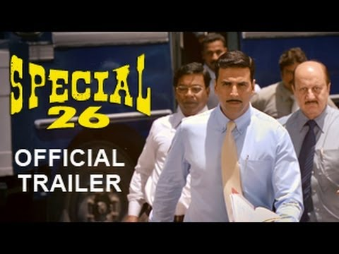 Special Chabbis - Official Trailer 2013 | Akshay Kumar | Manoj Bajpayee | Anupam Kher video