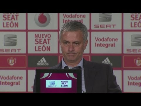 Jose Mourinho reflects on His Worst Season Ever after losing the Copa del Rey Final