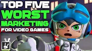 Top Five Worst Marketing for Video Games - rabbidluigi