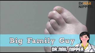 When Getting Nail Care is Like Getting a Haircut.  - Big Family Guy