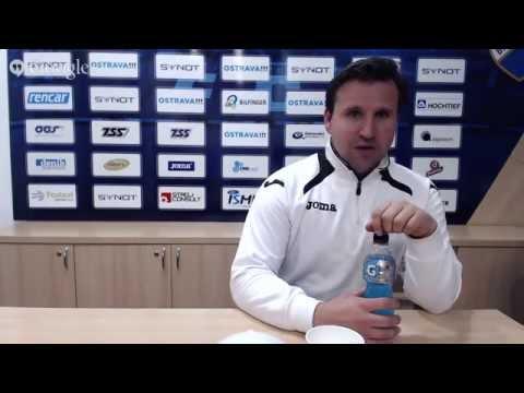 Tisková konference FC Baník Ostrava před utkáním s FC Viktoria Plzeň