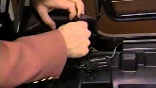 Cadillac Allante - Roof Change Procedures