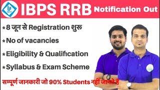 Breaking News, IBPS ने RRB (Rural Banks) का Notification Out किया देखिये