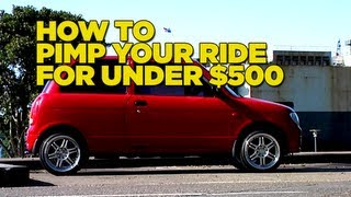 Mighty Car Mods - How to Pimp your Ride for under $500