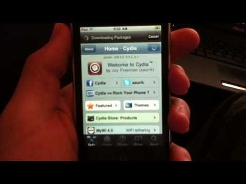 HOW TO JAILBREAK iPOD TOUCH 3rd. and 4th GENERATIONS ON IOS 4.2.1