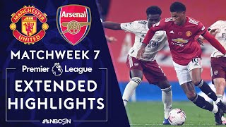 Manchester United v. Arsenal | PREMIER LEAGUE HIGHLIGHTS | 11/1/2020 | NBC Sports