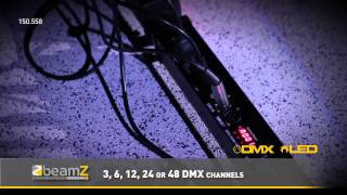 BeamZ LCB-252 Bar 8 Segments 252 RGB LEDs DMX 150.558 BeamZ