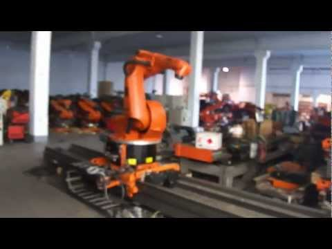 KUKA robot KR30 with KRC2 controller on a KL1500 linear track – part 2
