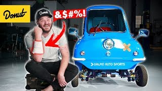 I CRASHED the Smallest Car in the WORLD! | Bumper 2 Bumper